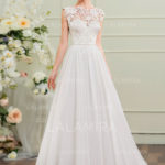 The latest designer elegant vintage lace wedding dresses from LaLamira take the minimalist trend to new heights