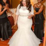The popular contemporary bridal dress designs can be purchased in plus size wedding dresses