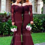 Mix and matching bridesmaids is an awesome way to add a playful touch to your wedding day