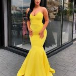 When you're organizing a yellow prom party, it's not easy to choose the final ball gown