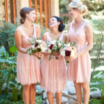Don't forget about your bridesmaids, though! Bridesmaid dresses are an important element!