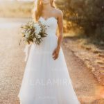 You are usually guaranteed to get affordable designer wedding dresses in LaLamira