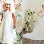 How Important The Flower Girl Dress Match Your Wedding Dress!