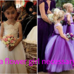Will You Prepare Flower Girl Dresses For Your Wedding?Is A Flower Girl Necessary?