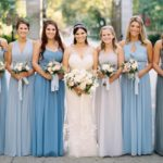 Bridesmaids play an important role in the wedding, so how to choose bridesmaids' clothing is also very important