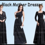 Can A Black Dress For Mother Of The Bride Be Accepted By Moms At The Wedding?