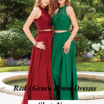 Wearing Red or Green Prom Dresses Make You Full of Energy Again