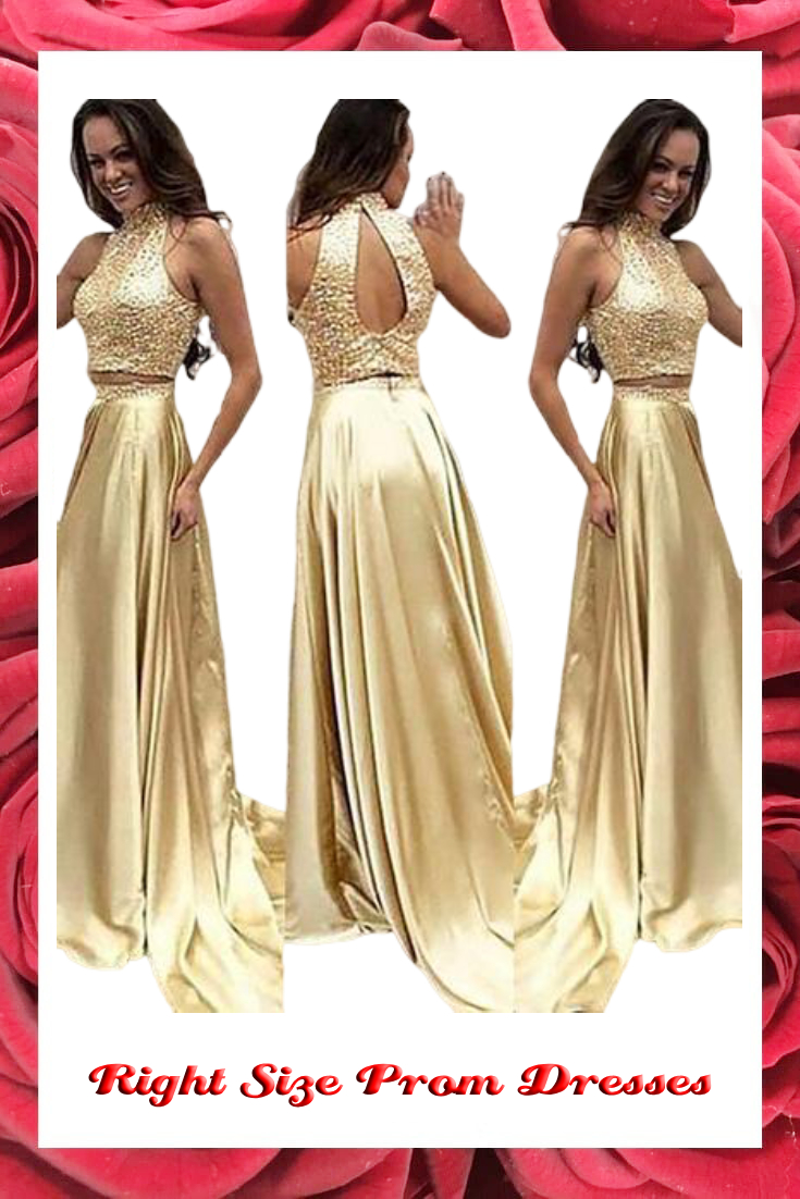 right size prom dresses