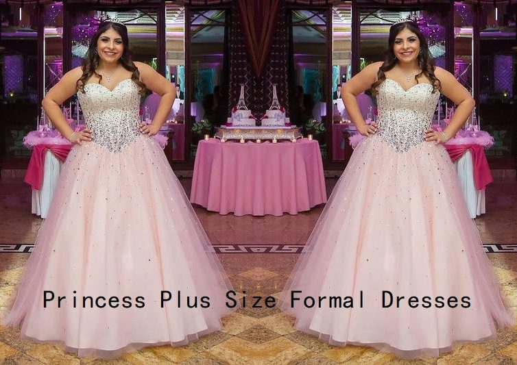 To Be A Fat Princess, You Need Get A Plus Size Formal Dress!