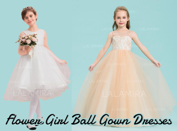 Exclusive Collection of Flower Girl Ball Gown for Formal Wedding Party