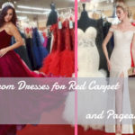 Fabulous Prom Dresses Looks for Red Carpet and Pageant