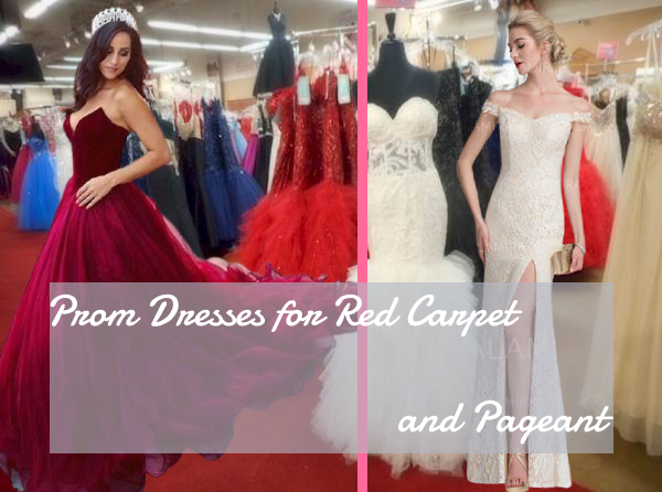 Prom Dresses for Red Carpet and Pageant