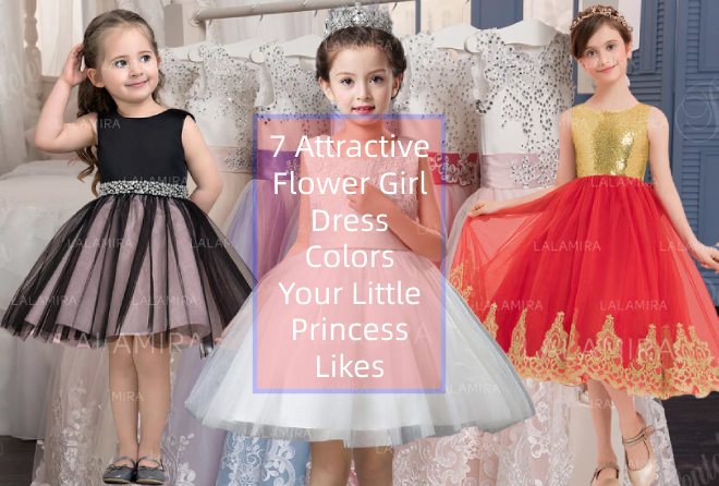 7 Attractive Flower Girl Dress Colors Your Little Princess Likes