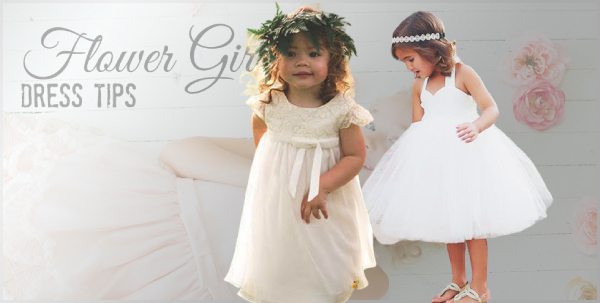 How to pick out lovely puffy flower girl dresses on a special occasion?