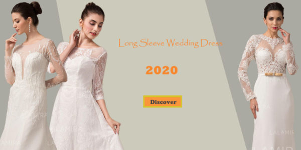 You must not Miss these 5 Popular Long-Sleeved Wedding Dresses in 2020