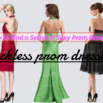 How to find a secret of sexy prom dresses Ⅲ: backless prom dresses
