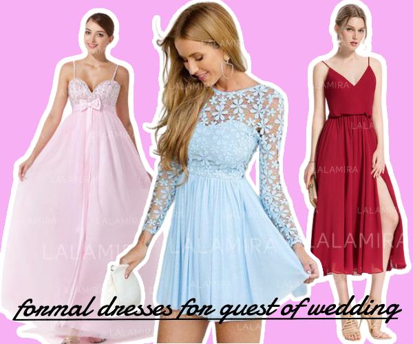 Fashion elegant formal dresses for women to attend summer wedding party