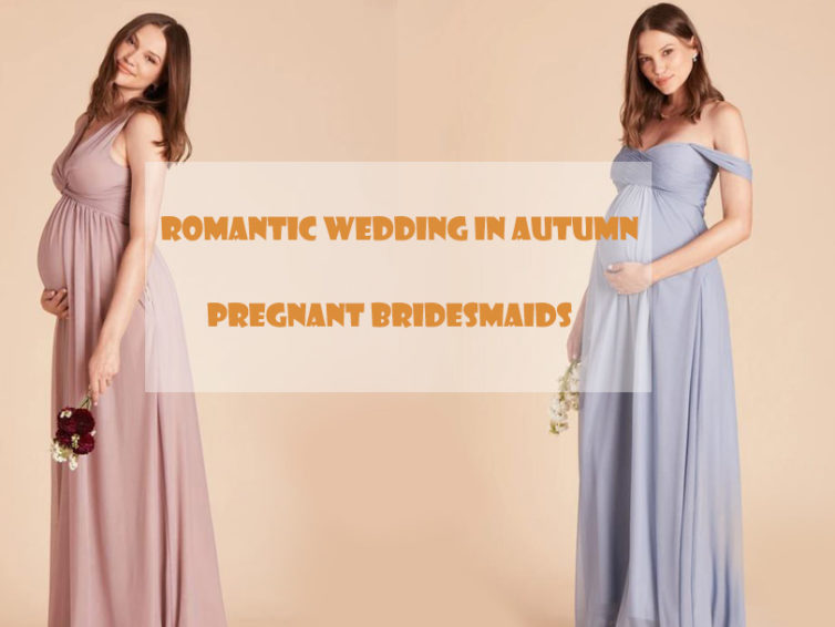 Romantic Autumn Weddings and Pregnant Bridesmaids Who Caught You Off Guard