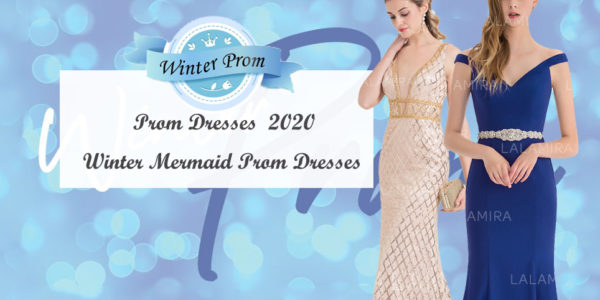 You can't Miss These Mermaid Prom Dresses at The Winter Prom! Show Your Perfect Self