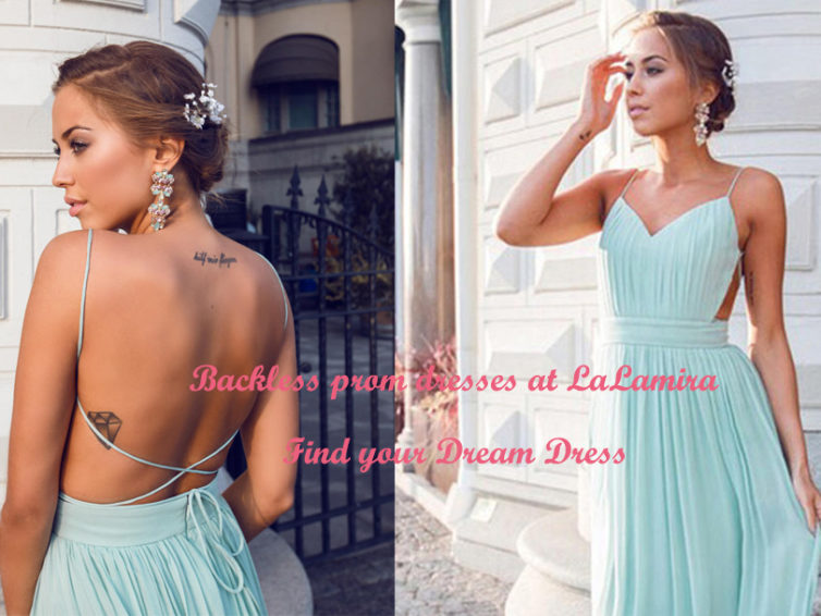 The trend of retro backless Prom dress is back! Come and choose!