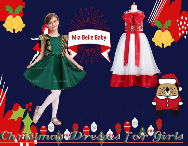 Latest style Christmas dresses for girls 2020 and unique Christmas gift ideas