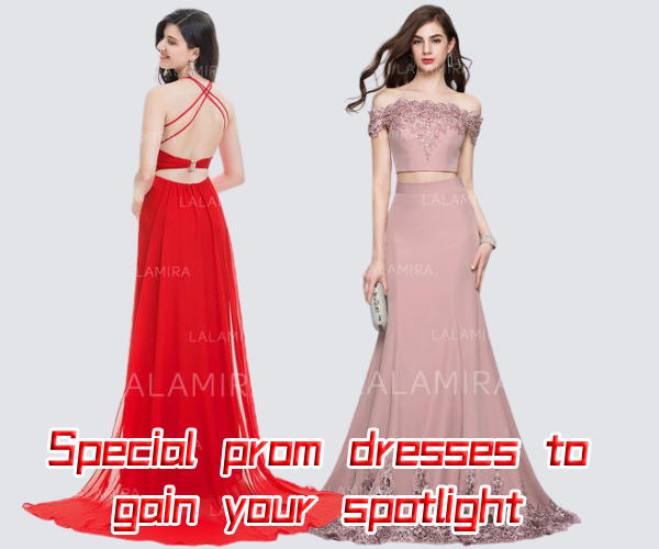 Special prom dresses to gain your spotlight