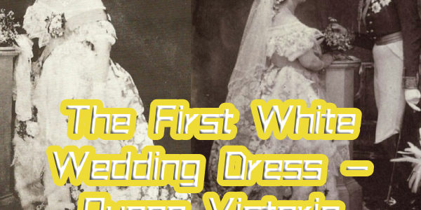 The origin of wearing a white wedding dress for the bride