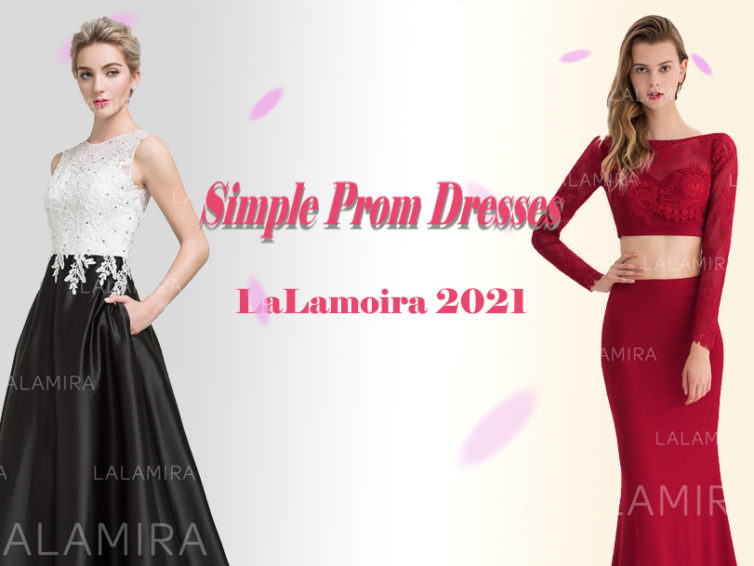 The Most Suitable Prom Dresses for You can not be too Gorgeous, Look at 5 Simple Prom Dresses