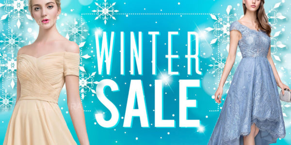The winter wedding season is coming again! Choose your evening dress and go to the wedding!