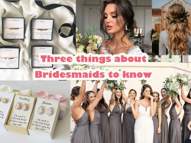 Your Bridesmaids: Bridesmaid Dresses, Bridesmaid Hairstyles and Bridesmaid Gifts