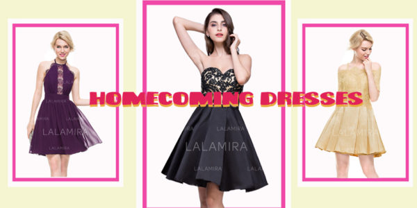 Want to be the Homecoming Queen, You should Choose LaLamira's Homecoming Dresses 2020