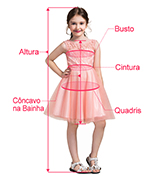 Flower Girl Dress Measuring Guide